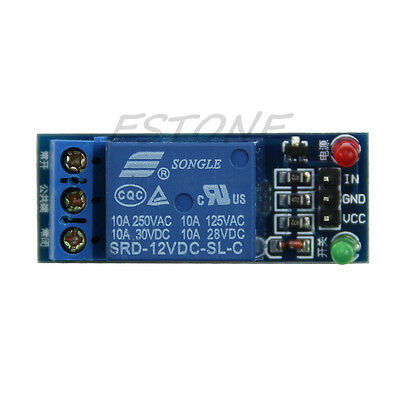 High Level Trigger 1-Channel 12V Relay Module Expansion Board for Arduino Relays
