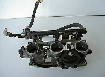 CORPO FARFALLATO , THROTTLE BODY , TRIUMPH SPRINT RS 955 i '00 .