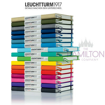 LEUCHTTURM 1917 MEDIUM A5 NOTEBOOK - Ideal Bullet Journal - 21 colours available