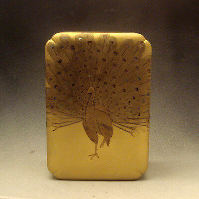19th Century Meiji Period Japanese Lacquer Box