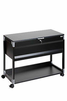 DURABLE 3787 01 Hängemappenwagen SYSTEM FILE TROLLEY 100 MULTI TOP schwarz