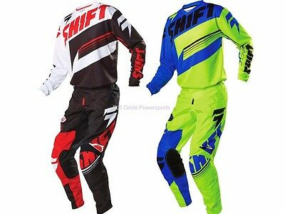 Shift MX Racing Assault Jersey & Pant Motocross MX/ATV Off Road MTB Youth Childs