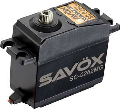 Savox SC-0252MG Standard Metal Gear Digital Servo Steering Servo