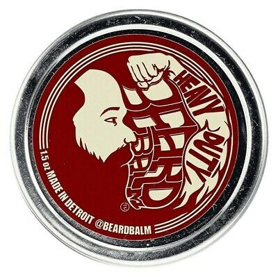 100% Natural STRONG Beard Balm Heavy Duty Hair Care Pomade Style Wax Made in USA