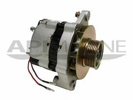 Mercruiser Alternator Mando 3-Wire 12V 55amp Many Apps Brand New Man Warranty 93