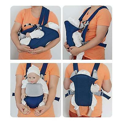 Baby Toddler Carrier Sturdy Backpack Mom Convenient Front Back Sling Seat Bag