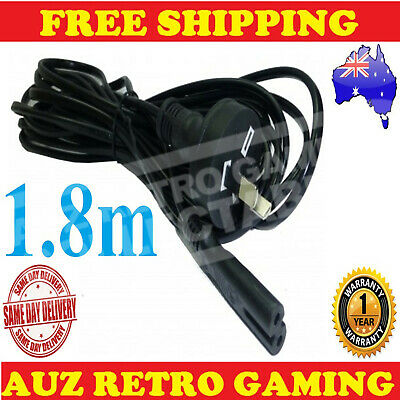 Power Supply Cable Cord Lead Plug SONY Playstation 1 2 PS2 PS1 Console