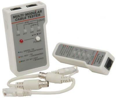 Mercury 710.285 Multi Network Cable Tester All Network and BNC Cables Suitable