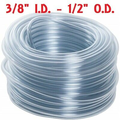 "5 Feet Of 3/8"" I.d. Hose For Rite Farm Auto Waterer Drinker Cups Chicken Poultry"