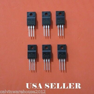 6pcs FGPF4633  TO-220 use in LG POWER BOARD EAX64232101 EBR73561701 USA SELLER