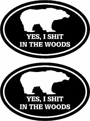 2 FISHING HUNTING vinyl decals stickers .BEAR BASS WALLEYE DEER CATFISH LURES