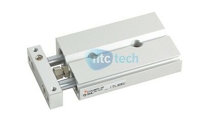 SMC CXSJM10-20 20mm Double Acting Pneumatic Cylinder Slide Bearing Table