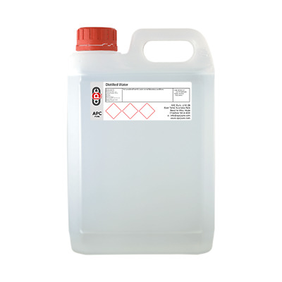 Distilled Water 10 Litres (2x5L) *Highest Purity & Quality* *Courier Delivery*