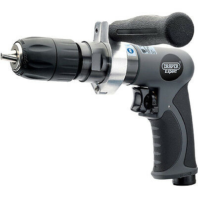 Draper Expert Reversible Air Drill with 13mm Keyless Chuck 4.0cfm