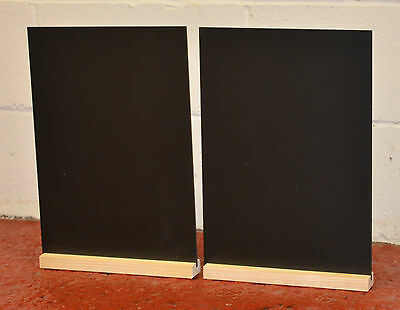 A4 Table Top Chalkboards Blackboard  For Use With Liquid Chalk Pens