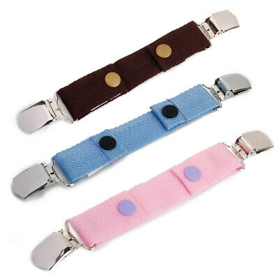 Functional Children Kids Canvas Belts Clips Adjustable Pants Skirts Waist Size