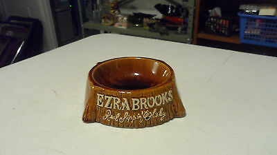 Rare Ezra Brooks Real Sippin Whiskey Embossed Ceramic Bowl Only One On Ebay
