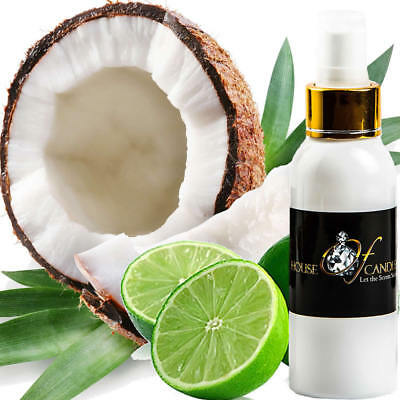 COCONUT & LIME Body Spray Mist EXTRA STRONG TRIPLE SCENTED