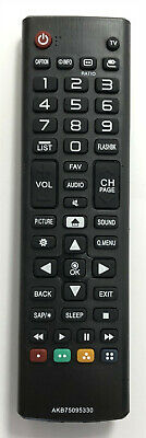 New LG Replacement TV Remote Control AKB75095330 For LG LCD LED Smart TV