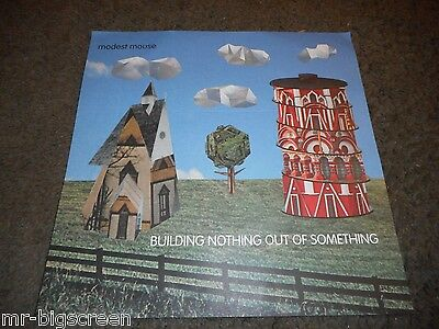 Modest Mouse - Original Cut-Out And Promo Poster - I-8/building Nothing
