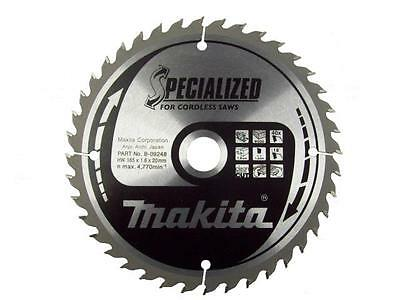 Makita Circular Saw for Cordless Saws 165x20x40T B-09248