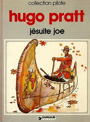 Rare Édition Originale 1980 + Hugo Pratt : Jésuite Joe