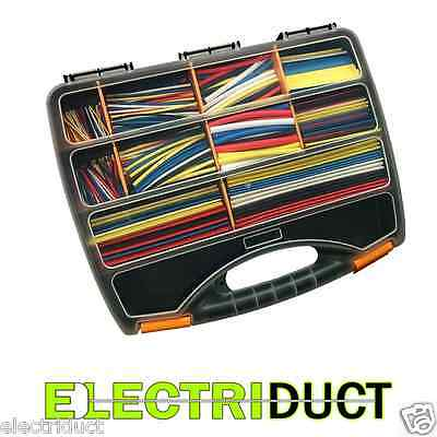 590pc - 2:1 Heat Shrink kits Wire Wrap Tubing Electrical Connection Cable Sleeve