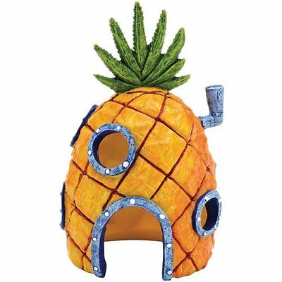 6.5 inchSpongebob pineapple house aquarium fish tank ornament Squarepants(SBR10)