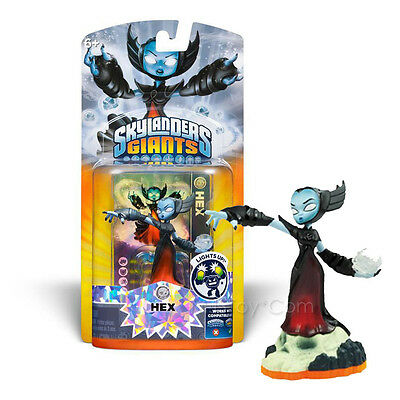 NEW RARE Skylanders GIANTS LightCore HEX Action Figure Light Up Undead Element