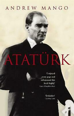 Ataturk by Andrew Mango (English) Paperback Book Free Shipping!