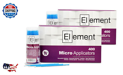 800 Micro Applicator Microapplicators Microbrush Dental - MEDIUM / BLUE EHROS