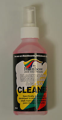 Rainbow Chalk Cleaner For Blackboard Chalkboard & Glass Removes Liquid Chalk