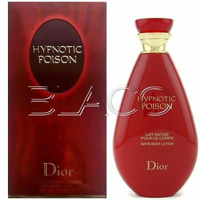 Dior Hypnotic Poison Body Milk 200 Ml Latte Corpo Idratante Per Donna Originale