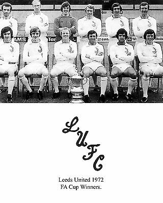 Leeds United 1972-1973 Centenary Cup Winners 02 Photo Print