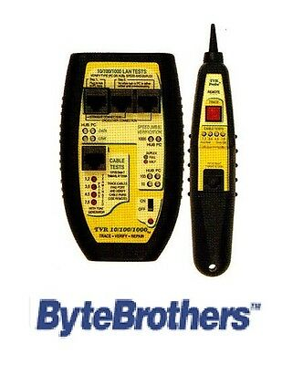 TVR 10/100/1000 Lan Tester Tone and Probe - Byte Brothers