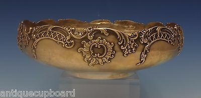 Dresden by Whiting Sterling Silver Fruit Bowl Applied Floral/Scroll Motif #0352