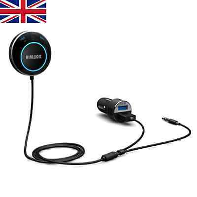 Iclever Himbox Hb01 Bluetooth 4.0 Hands-free Car Kit For Cars With 3.5 Mm Aux I