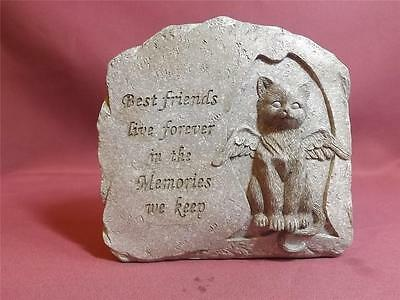 MEMORIAL PLAQUE for CAT  NEW *POLY-RESIN*