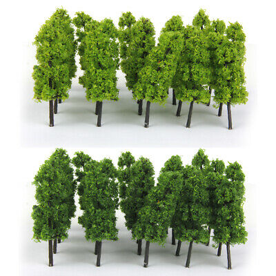 20 Pagoda Trees Model Train Railroad Scenery Wargame Diorama Z Scale 1:200