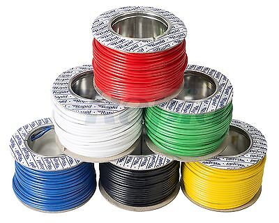 Rapid 55/0.1mm Extra Flexible Wire 6A (25m reel) - Suitable for Test Leads