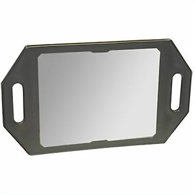 Double Handed Back Mirror BLACK for Hairdressing Salon Professional Quality