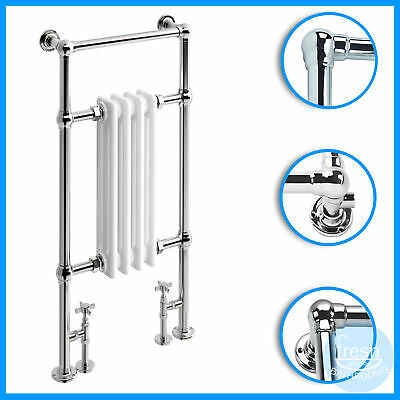 952x479mm Luxury Traditional Style Heated Towel Rail | Bathroom Radiator Warmer