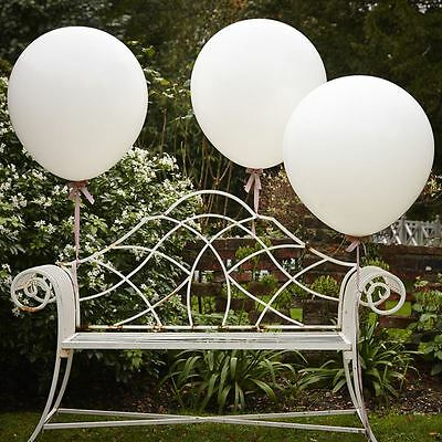 "Vintage Affair Giant 36"" Feature Balloons Wedding Party Decoration 3 Pack"