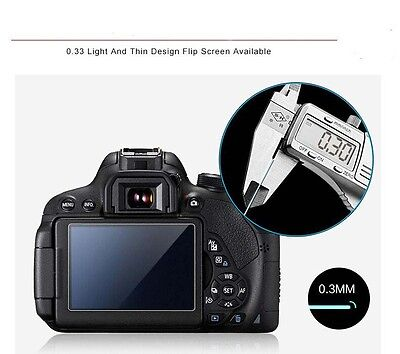 2X Tempered Glass Screen Stalinite Protector Film For Sony alpha A6000/5000/6300