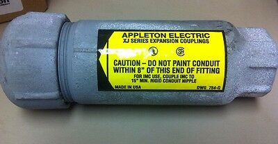 """Appleton Electric 1"""" Expansion Fitting  XJ1004 Ductile Iron   (T2*)"""