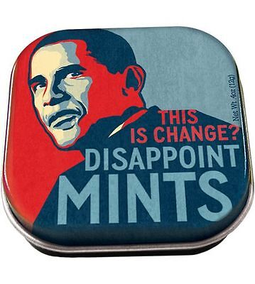 """Mints: Obama """"This is Change?"""" Disappointmints"""