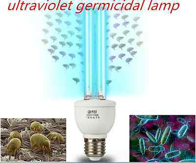 ultraviolet germicidal lamp Healthy Home 99% Anti-Bacterial , Anti Dust Mite