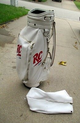 Vintage RC Cola Professional Tour Golf Bag with Cover