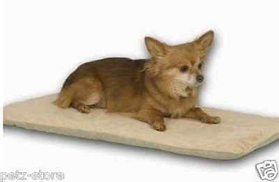 Dog Puppy Cat Pet Heat Pad Warmer padded low watts electric 12v safe whelping