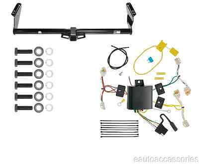 rear mounted class 3 trailer hitch w wiring fits toyota sienna